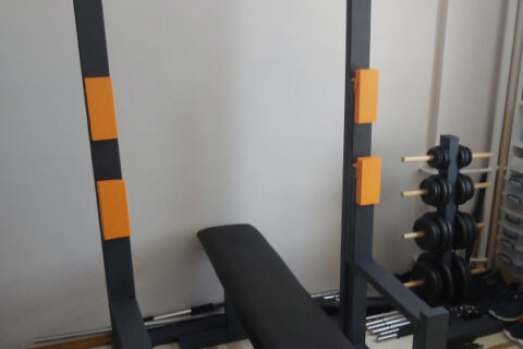DIY Wooden Squat Rack